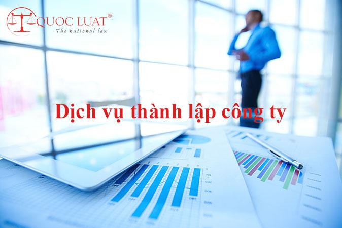 Dịch vụ thành lập công ty tại TPHCM