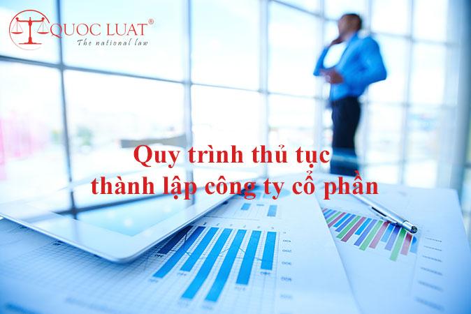 Quy trình thủ tục thành lập công ty cổ phần ở TPHCM