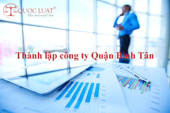 Dịch vụ thành lập công ty giá rẻ ở Quận Bình Tân