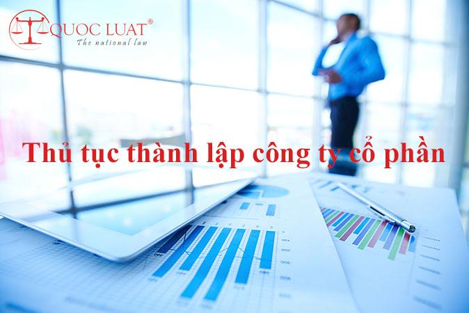 Thủ tục thành lập công ty cổ phần ở TPHCM