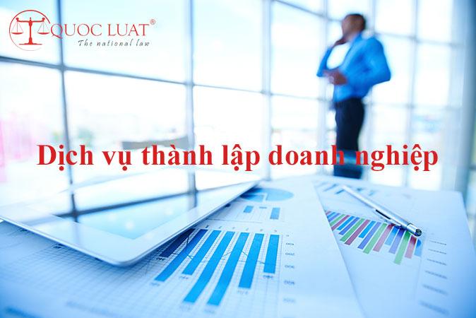 Dịch vụ thành lập doanh nghiệp ở TPHCM
