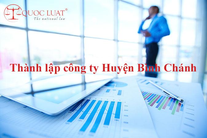 Dịch vụ thành lập công ty giá rẻ ở Huyện Bình Chánh