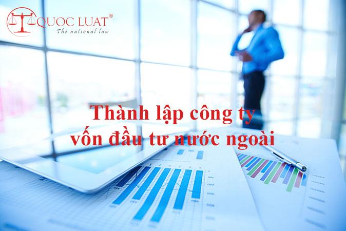 Thành lập công ty vốn đầu tư nước ngoài