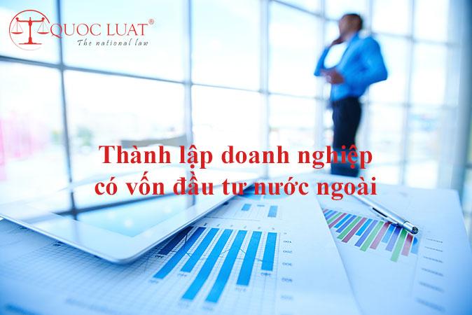 Thành lập doanh nghiệp có vốn đầu tư nước ngoài ở TPHCM