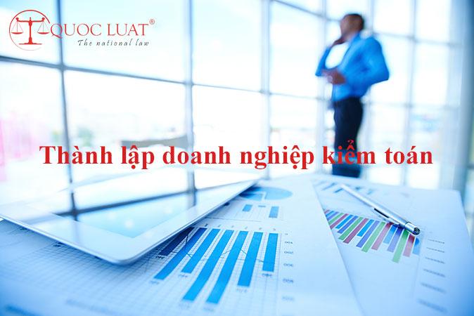 Thành lập doanh nghiệp kiểm toán ở TPHCM